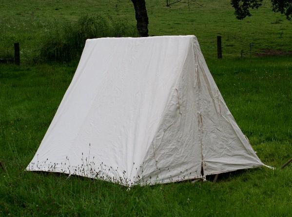 Civil War Tents : Big a framed tent anglo saxon reenactment civil war ebay