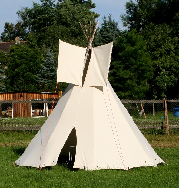 2 50m tipi indianerzelt spieltipi kindertipi spielzelt ebay. Black Bedroom Furniture Sets. Home Design Ideas
